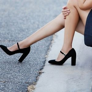 Louise Et Cie 'Jayde' Mary Jane Block Heel Pump